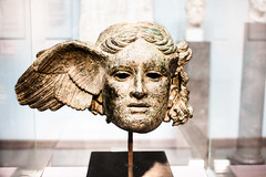 Hypnos (Sean Garrett (blacktau)) Tags: england bronze europe god unitedkingdom head bloomsbury gods material britishmuseum cityoflondon hypnos