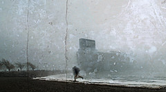 MIKE6454-post-B2 (Michael William Thomas) Tags: mtphoto mikethomas michaelwthomas michaelthomas photography photographer portraits photoshop portrait photo fog ice urbex lakeerie water waterfront mood distress textures