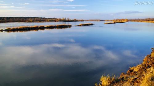 Kazimierski Park Krajobrazowy, Wisła jesienią  5