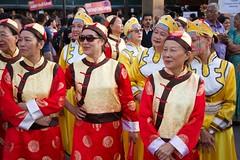 Asian costumes (Val in Sydney) Tags: parade parramatta parramasala nsw australia australie