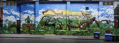 Maka & the Biz (J-C-M) Tags: mike maka makatron conrad bizjak artist artistic artwork street wall art streetart wallart mural graffiti grafitti paint painting melbourne lane laneway victoria australia stitched stitch panorama