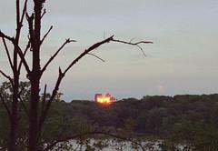 00001q (dmacfoto) Tags: hamilton expiredfilm fujica kodakprofoto m42 analog 35mm sunset cityscape