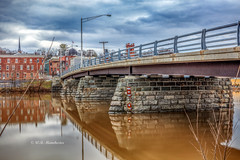 After The Rain (Roy Manchester) Tags: canon canonllenses availablelight acraswiss manfrotto bridges water 5dsr 247028l llenses landscape light longexposure sky buildings hudsonvalley hoyacpl hoyand8 catskillnewyork catskill upstatenewyork unitedstates upstateny gps geotag
