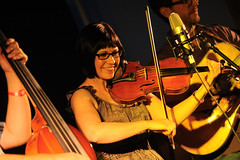 April Verch – Kicking Up A Storm – 10/13/11 (photo: Neil Gascoyne)