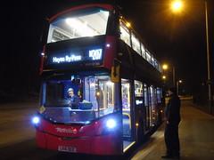 Banned Working, Uxbridge Don't Care!!! (ultradude973) Tags: metroline west limited volvo b5lh wrightbus gemini 3 frogface vwh2186 lk 16 lk16 dgx lk16dgx n207 uxbridge hayes bypass holborn hybrid bus double decker banned working