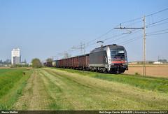 RCC E190.025 (Marco Stellini) Tags: rail cargo carrier italia e190 taurus 025 rekorc world record cremona