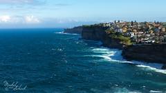Dover Heights (Maikel van Schaik) Tags: maikel van schaik dover heights sydney new south wales australia cliffs waves decent living coastal nikon d600 nikon173528 blue skies sky water