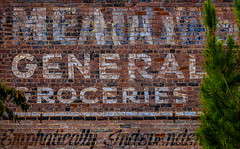 Manifest Initiation (Junkstock) Tags: advertisement advertising aged americana arizona brick bricks business decay decayed distressed exterior graphics graphic mayer sign signage signs text textures texture typography type vintage weathered wall