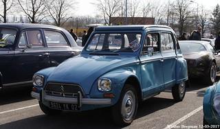 Citroën Dyane 6 1973