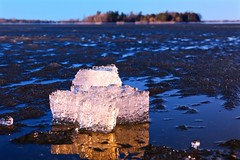 Nice to See Ice... (deanspic) Tags: ice longsault vfmc spring reflection g3x stlawrenceriver
