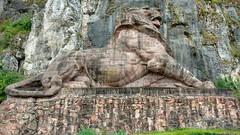 Le Lion de Belfort, sculpture d'Auguste Bartholdi (alain_halter) Tags: belfort france bourgognefranchecomté territoiredebelfort lion liondebelfort augustebartholdi bartholdi