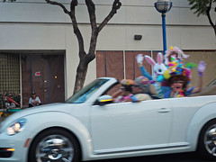 041617_1671 MISTI COOPER PIX of Easter bunny car in WEHO CA (DRUified) Tags: rebeccadru druified thesoulphotographer rebeccadruphotography transformationalphotography empath intuitive iamlove portraitphotography landscapephotography misticooper spiritualalchemist spiritualecstasy spiritualxtc roadtrip ontheroadwithspiritualxtc toronto chooselove healers energetichealer medicalintuitive transforminglivesactivatingsouls transformation transforminglives activatingsouls westhollywood california usa getolympus olympuscamera iwanttobeanolympusvisionary olympusomd olympusem1 olympusem5