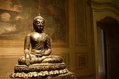 Meditating (Mersa Photography) Tags: mao museum art oriental turin city italy ambient zen culture
