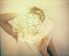 Wake up! (marion (milky soldier)) Tags: roidweek polaroidweek polaroidweek2017 roidweek2017 polaroid spectra doubleexposure film cloud nationofdreamers dreamyhead wakeup analogue analoguelove snapitseeit