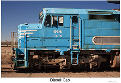 Diesel Cab CXLVIII (Robert W. Thomson) Tags: dyrx dynamicrailpreservation amtk amtrak emd diesel locomotive sixaxle sdp40f sdf402 train trains trainengine railroad railways ogden utah