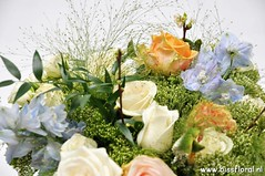 #Feestelijk #Fonteingras... (floralworkshops) Tags: delphinium fonteingras roos