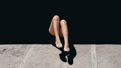 246/365 In Places (Katrina Y) Tags: selfportrait feet leg shoes shadow contrast throughherlens conceptual concept surreal sunlight surrealphotography 2017 365project