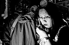 I wan't to break free. (Baz 120) Tags: candid candidstreet candidportrait city candidface candidphotography contrast street streetphoto streetcandid streetphotography streetphotograph streetportrait rome roma romestreets romecandid europe women monochrome monotone mono blackandwhite bw noiretblanc urban voigtlandercolorskopar21mmf40 life leicam8 leica primelens portrait people unposed italy italia girl grittystreetphotography flashstreetphotography flash faces decisivemoment strangers
