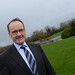 Dr Howard Hastings arriving at the IHF Conference in Lyrath Estate, Kilkenny