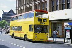 Bee Line 658 (GND 495N) (SelmerOrSelnec) Tags: beeline leyland atlantean northerncounties gnd495n manchester oldhamstreet selnec gmt bus
