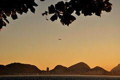 bfds procê (Ruby Ferreira ®) Tags: sailboat veleiro avião airplane hils bay baíadaguanabara sunset pôrdosol branches silhuetas silhouettes galhos
