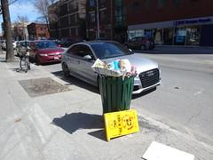 DSC05551 (olivier_martineau) Tags: outremont montreal montréal poubelle saleté