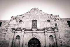Remember the Alamo (mikejmartelli) Tags: thealamo alamo sanantonio texas american americana davycrockett williamtravis history battles battlefield spanishmission mission sepia sepiatoned