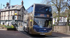 Penrith (Andrew Stopford) Tags: yn65xfd scania n230ud adl enviro400 stagecoach gold penrith x5
