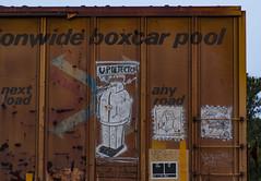 (o texano) Tags: texas graffiti trains freights bench benching moniker broke a2m adikts