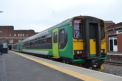 London Midland 170501 & 153365 (Will Swain) Tags: station 16th march 2017 birmingham west midland midlands city centre train trains rail railway railways transport travel uk britain vehicle vehicles country england english walsall london 170501 153365 class 170 153 365