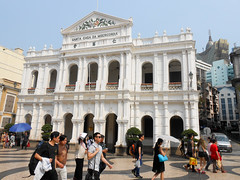 Museum Of The Holy House Of Mercy (gavindeas) Tags: places china macau macao 中国 中國 澳門 澳门 museumoftheholyhouseofmercy buildings