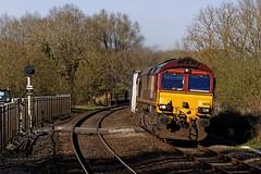 Heyford Intermodal 1 (D1059) Tags: 66130 shed dbcargo ews 4v54 0933wakefieldeuroportdidcot vstp intermodal heyford