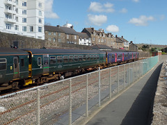 150124, 153318 & 150247 Penzance (6) (Marky7890) Tags: gwr 150124 150247 153318 class150 class153 supersprinter sprinter 2e66 penzance railway cornwall cornishmainline train