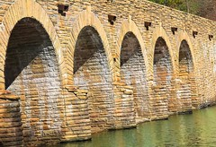 Cumberland Moutain State Park's Stone Bridge.... (~ Cindy~) Tags: park state mountain cumberland tennessee crossville bridge stone 032017 crossvilletn