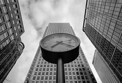 Time is money (Jay Hunjan) Tags: fuji xt20 14mm london canarywharf canary wharf