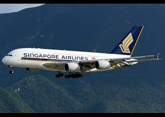 Airbus | A380-841 | Singapore Airlines | 9V-SKB | Hong Kong | HKG | VHHH (Christian Junker | Photography) Tags: nikon nikkor d800 d800e dslr 70200mm teleconverter aero plane aircraft airbus a380841 a380800 a380 a388 singaporeairlines singapore sq sia sq866 sia866 singapore866 9vskb staralliance super widebody arrival landing 07l airline airport aviation planespotting 005 hongkonginternationalairport cheklapkok vhhh hkg clk hkia hongkong sar china asia lantau spottingbyboat christianjunker wwwairlinersnet flickraward flickrtravelaward zensational hongkongphotos worldtrekker superflickers
