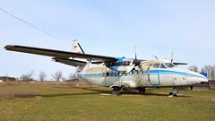 Let L-410UVP Turbolet c/n 810603 Aeroflot registration CCCP-67002 preserved in the town Chubinskoye, Ukraine (sirgunho) Tags: let l410 turbolet l410uvp cn 810603 aeroflot registration cccp67002 preserved town chubinskoye ukraine