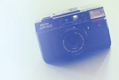 Ricoh AF-40 (rolandmks7) Tags: sonynex5n ricoh af40 film thriftstore camera