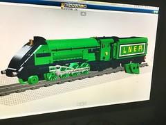 WIP P2 LNER 'Lord President' (Britishbricks) Tags: wip lego moc train lner streamlined green ldd