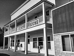 Daniels County Courthouse- Scobey MT (4) (kevystew) Tags: montana danielscounty scobey hotel brothel usccmtdaniels courthouses courthouse countycourthouse nationalregister nationalregisterofhistoricplaces blackandwhite