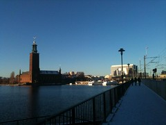 Stockholm (2015) (alexismarija) Tags: stockholm sweden europe winter christmas scandinavia stockholmcityhall cityhall architecture history water bridge tourists kungsholmen