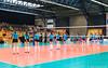 2017-04-08 EK U18 Ned - Slo (10a) (Peter Donderwinkel) Tags: ekmeisjesu18 nederland teamholland slovenië valkenhuizenarnhem papendal volleybal volleyball sportphotography teamsport indoor ek canon nevobo volleybalnl oranje