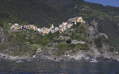 Corniglia Cinque Terre (Rene Stannarius) Tags: italy cinque terre mittelmeer corniglia mediterranean ufer küste meer unescowelterbe liguria five lands