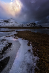 Somewhere in the Road (Toni_pb) Tags: iceland islandia landscape d810 nikon nature minimalist mountain nikkor142428 ice snow warm wild clouds cloudy colors vanishingpoint