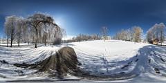 Easter snow brings beauty.. (360x180) (ba7b0y) Tags: 360x180 360 panorama pano equirectangular ptgui torsby värmland sweden easter snow påskafton snö påsk