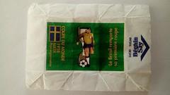 Série Coupes du Monde Football - 1958 Suède 01 (periglycophile) Tags: france périglycophilie sucrology sugar sucre cube morceaux beghin say série series coupes du monde de football 1958 suède