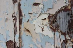 Door Abstract  (V1) (Julie Rutherford1) Tags: door abstract paint fading decay peeling
