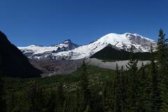 Little Tahoma and Mount Rainier (Sean Munson) Tags: washington hiking nationalpark mountrainiernationalpark emmonsglacier glacier littletahoma mountrainier rainier landscape mountain mountains