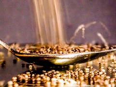 102.365 Spoonful (marcy0414) Tags: memberschoiceseeds macromonday macromondays seed seeds chia chiaseeds teaspoon mirror reflection movement macro spoon spoonful yepyep