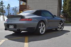 show stopper (sean.m.c photography) Tags: silver nikon colorado mine 911 fast convertible spot turbo german porsche spotted loud cabrio spoiler cabriolet 996 d3200 worldcars
